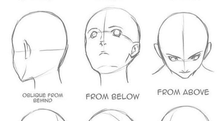 Gesicht helfen. Haben Sie Probleme beim Zeichnen von Gesichtern? Artist: Unknown Dm zum Entfernen   #DrawingTips