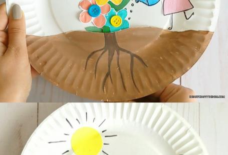 Growing Flowers Craft for Kids#craft #flowers #growing #kids