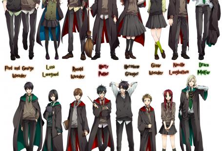 Harry Potter Anime!
