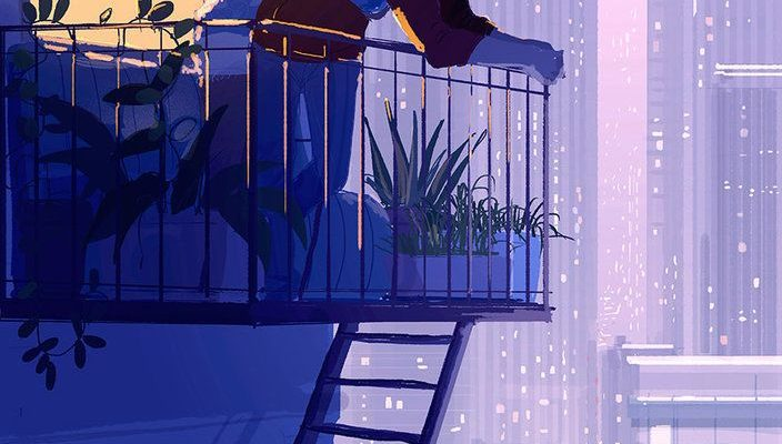 Husband's Illustrations Beautifully Capture The Cozy Feeling Of Love