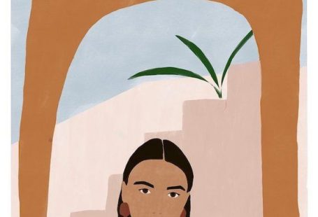 """Important note: If you would like your order to be tracked please select with tracking option at checkout. Standard shipping doesn't provide tracking. """"DESERT GIRL"""" ILLUSTRATION Fine Art Giclee print All my illustrations are printed on high quality artist paper (300gsm) with rich, saturated colours"""