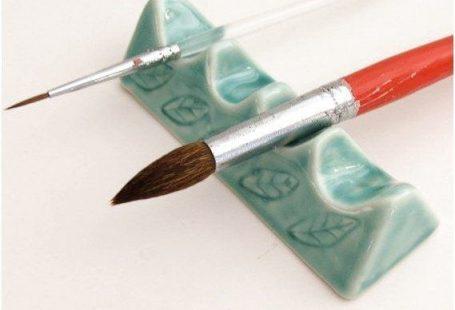 Künstlerpinselhalter von sumiko2etsycom #PotteryInspirations #Pottery #Ceramics clic ... #ceramicpottery Künstlerpinselhalter von sumiko2etsycom