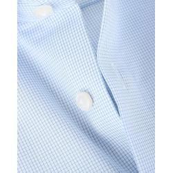 Olymp Luxor Hemd Blau Karo Comfort Fit Olympolymp