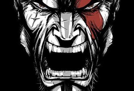 Kratos furious