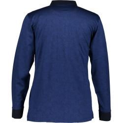 State of Art Poloshirt, Jacquard merzerisiert, fancy State of ArtState of Art