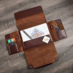 Veg tanned leather goods