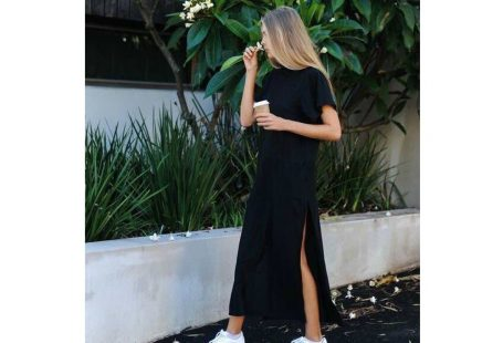 Maxi T Shirt Dress Women Winter Christmas Party Sexy Vintage Bandage Knitted Boho Bodycon Casual Black Long Dresses Plus Size