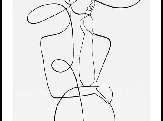 Minimalistische abstracte poster van een elegante vrouw. Het silhouet is getekend met dikke zwarte lijnen, wat een moderne en elegante uitstraling creëert. De poster ziet er zonder twijfel geweldig uit met andere posters van deze kunstenaar. Een goede interieur tip is om verschillende minimalistische posters te combineren en een fotowand samen te stellen. Deze poster is deel van de Peytil collectie, dat als kunst project opgezet werd door Eitil Thorén in Stockholm, Zweden in 2016. Met de ...