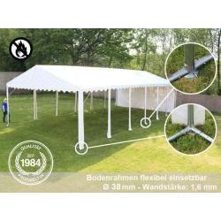 Partyzelt 6x12m Pvc 550 g/m² grau wasserdicht Gartenzelt, Festzelt, Pavillon ToolportToolport