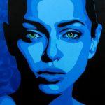 "Saatchi Art Artist Esko Lindgren; Painting, ""Zhenya"" #art"