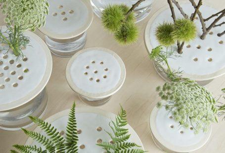 Through November 15, a David Stark-designed garden pop-up shop in Detroit is showcasing collaborations between international designers and local artists.