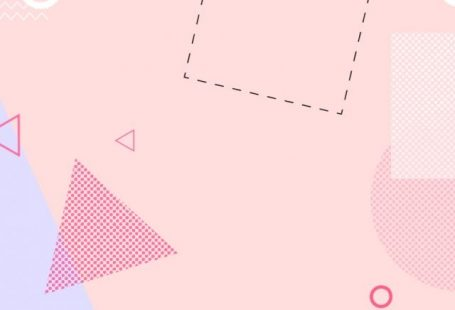 Simple pink pop style irregular geometric background material wind,pop wind background,simple