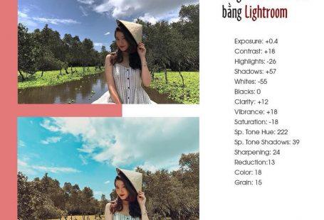Tổng hợp Công thức Lightroom chỉnh ảnh đẹp - Công thức Màu