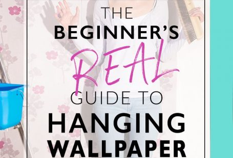 So funny. So helpful. This is the most approachable tutorial for how to hang wallpaper that I