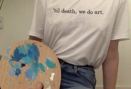 Til Death We Do Art Shirt - #Art #Death #Shirt #Til