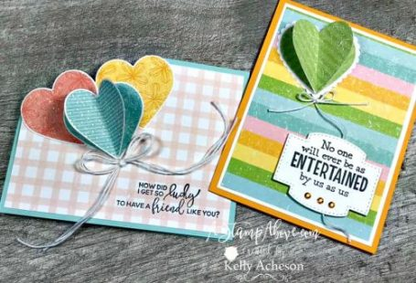 Learn how to make 3D images from punches & dies by Stampin
