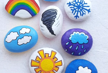 Great idea for painted story stones. Amazing step-by-step rock painting tutorial. Rock painting idea for kids and adults. Top idea for rock painting. Artistro is the optimal brand of paint pens for artists of all ages. ARTISTRO's oil-based paint markers flow smoothly without flooding, jamming, or drying at the fine tip.
