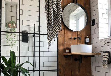Wenn Industriestil auf #Badezimmerziele trifft.    #bathroomgoals #industri #fashionaccessories