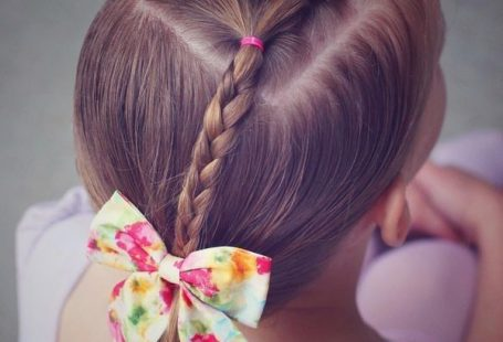 beautiful hairstyles for little girls on the occasion of the new school year  #beautiful #girls #hairstyles #little #occasion