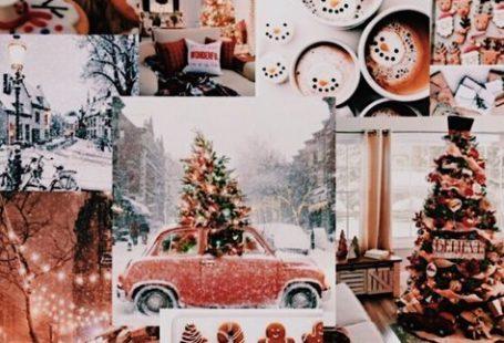 #christmas #aesthetic #wallpaper #collage #trendy26+ trendy aesthetic christmas wallpaper collage