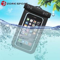 Wasserdichte Handytasche in Schwarz für Ihr iPhone 6/6sGahatoo