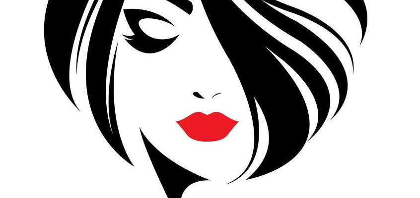 women short hair style icon, logo women face on white background. Download a Free Preview or High Quality Adobe Illustrator Ai, EPS, PDF and High Resolution JPEG versions.